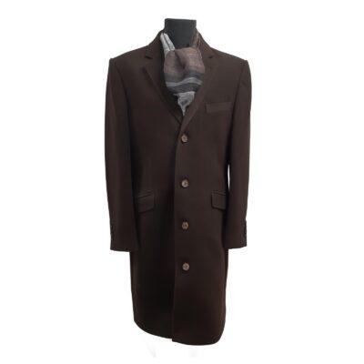 100% gyapjú hosszú kabát