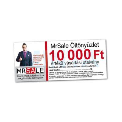 10.000 Ft-os vásárlási utalvány