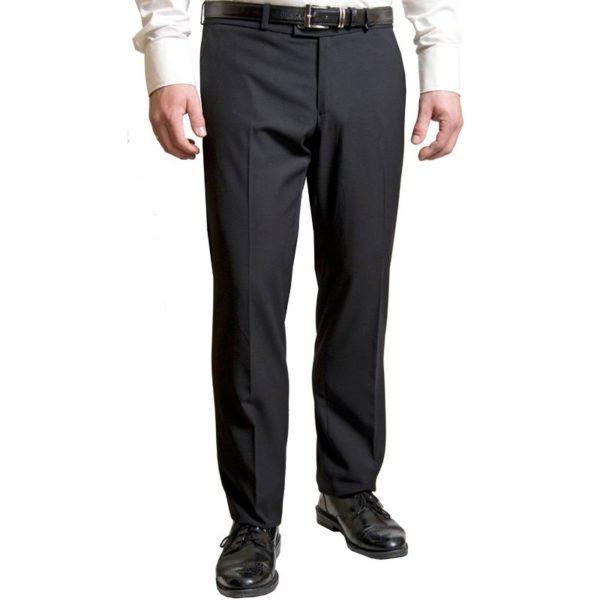Fekete, slim ballagó nadrág