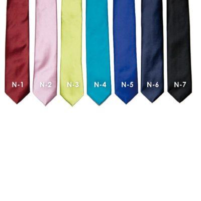 Egyszínű ballagó nyakkendő