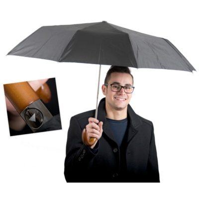 Félautomata esernyő
