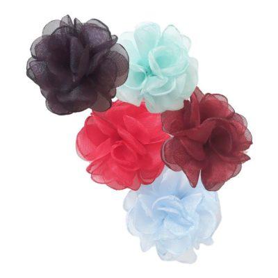 Ballagó merevített szirmú muszlin rózsa