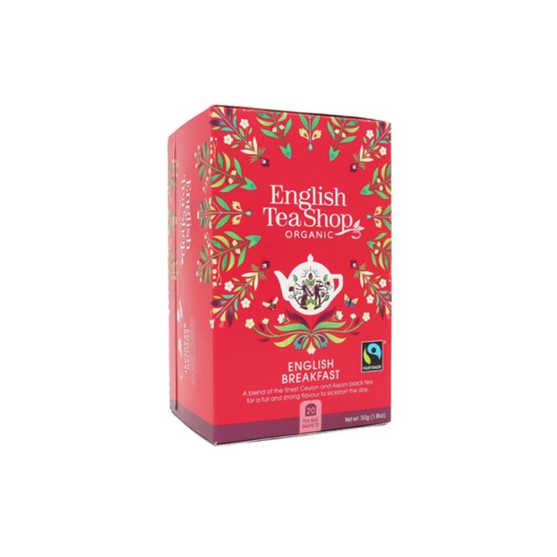 English Breakfast bio fekete tea