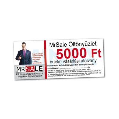 5.000 Ft-os vásárlási utalvány