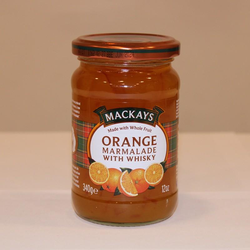 Tradicionális skót whiskey-s narancs lekvár