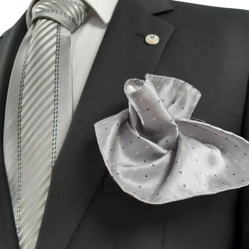 Lab4Style 100% élőgyapjú karcsúsított öltöny