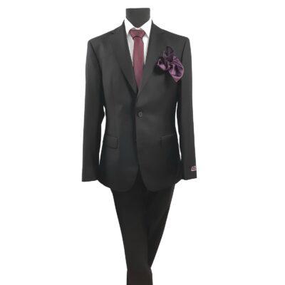 Louis Copeland 100% élőgyapjú karcsúsított öltöny