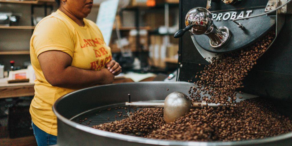 kávébab pörkölés