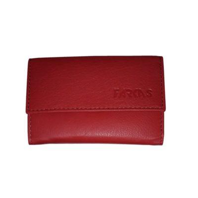Kisméretű patentos bőr pénztárca