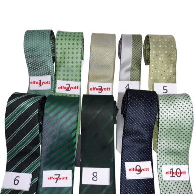 Mikroszálas nyakkendő kiárusítás