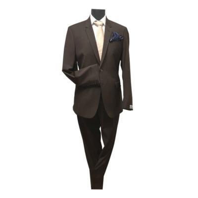 Seroussi szűzgyapjú slim fit öltöny
