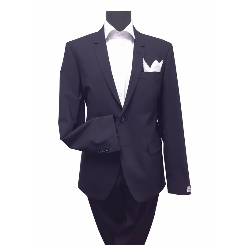 Seroussi 95% szűzgyapjú slim fit öltöny