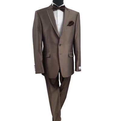 Wilvorst dohányszínű esküvői öltöny