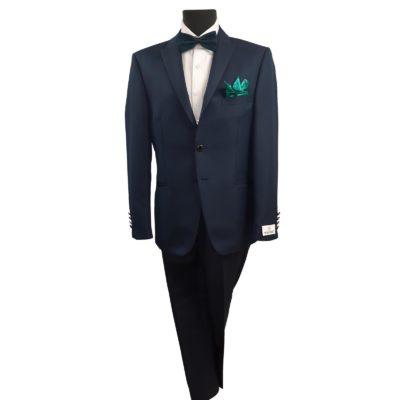 Wilvorst petrolkék esküvői öltöny