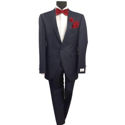 Wilvorst sötétkék esküvői öltöny